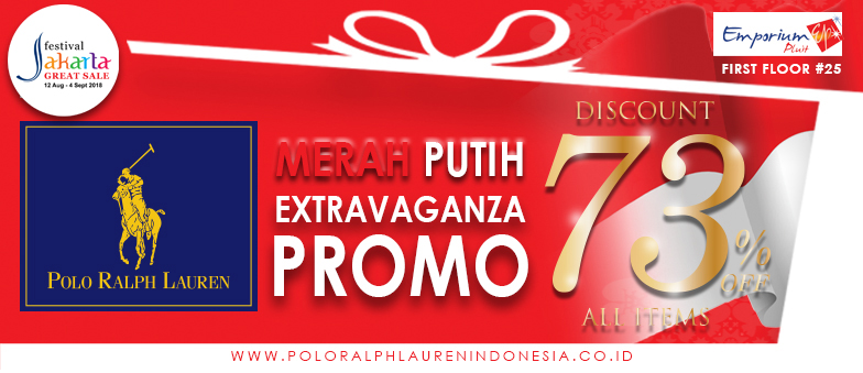 Diskon 73% ALL ITEMS di Polo Ralph Lauren!