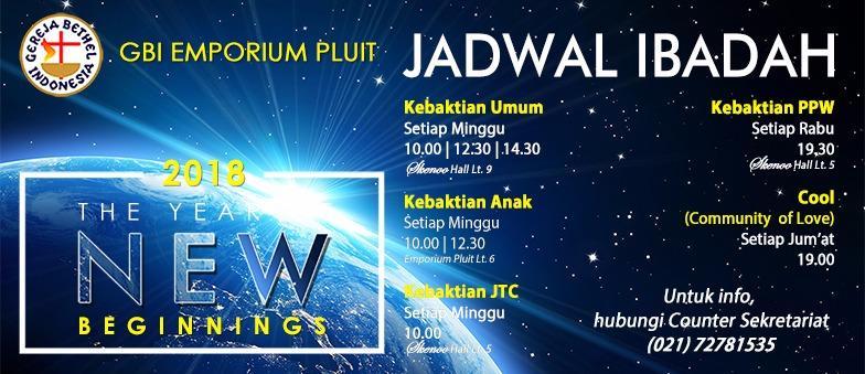 Jadwal Ibadah GBI Emporium Pluit