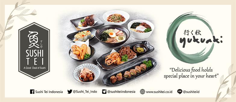 Enjoy New Menu from SUSHI TEI!